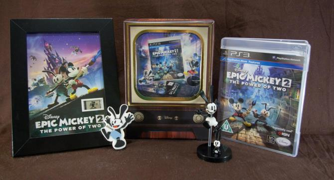 Disney Epic Mickey 2 The Power of Two (Collector's Edition)