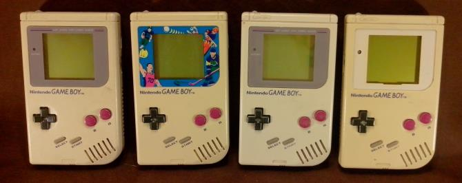 Comparaison Game Boy
