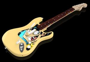 Rock Band 4 - PAX Exclusive Guitar