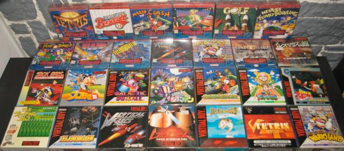 Virtual Boy 27 jeux