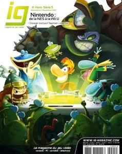 IG Magazine Hors Serie 5 Couverture Rayman Legends