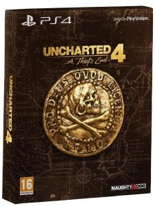 Uncharted 4 - A Thief's End - Edition Spéciale (cover)