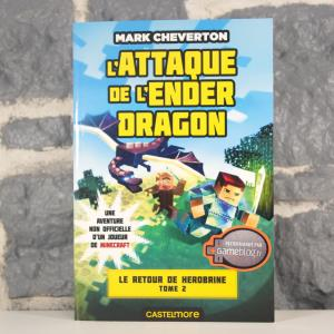 Minecraft - Le Retour de Herobrine, T2 - L'Attaque de l'Ender Dragon (Mark Cheverton) (01)