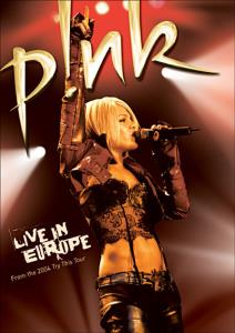 Live in Europe (cover)