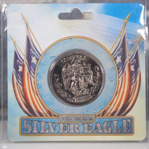 BioShock Infinite Silver Eagle Coin (01)