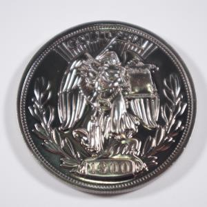 BioShock Infinite Silver Eagle Coin (03)